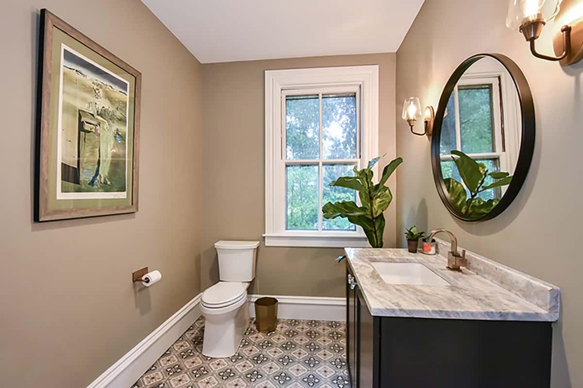 Mystery on Mawney Bathroom After